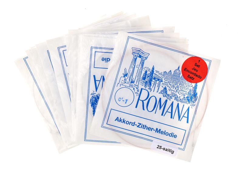 Romana Akkordzither Melody Strings
