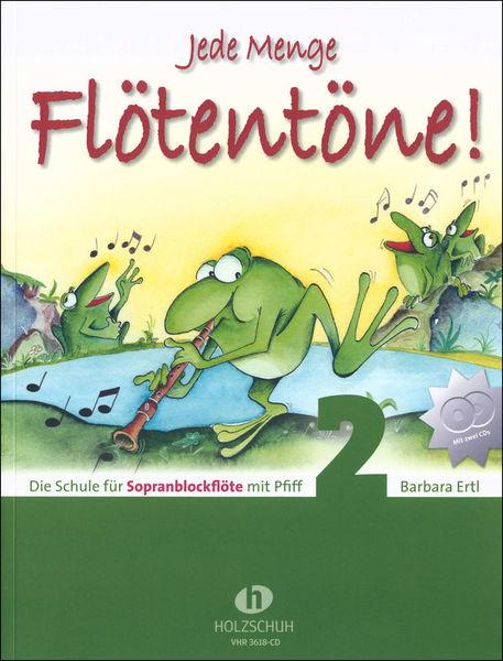 Holzschuh Verlag Jede Menge Flötentöne 2 + CD
