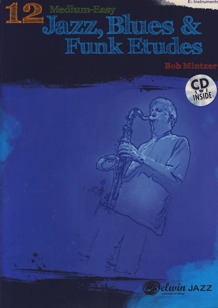 Alfred Music Publishing 12 Medium Jazz Etudes Eb