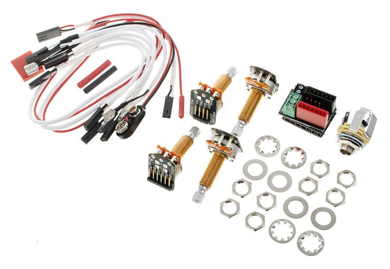 EMG 1 or 2 Pickups Wiring Kit LS