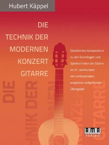 AMA Verlag Technik Moderne Konzertgitarre