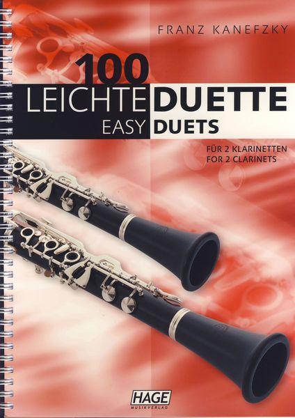 Hage Musikverlag 100 Leichte Duette Klarinette