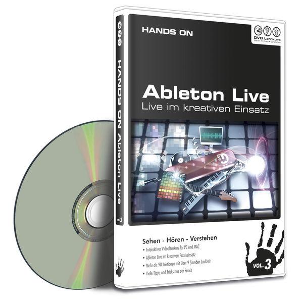 DVD Lernkurs Tutorial Hands On Live Vol.3