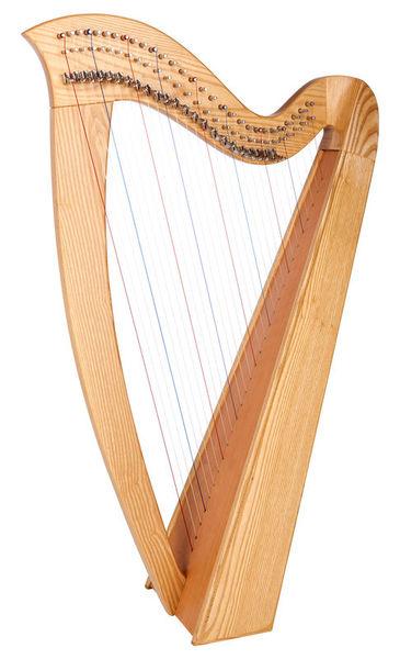 Thomann Celtic Harp Ashwood 29 Str.