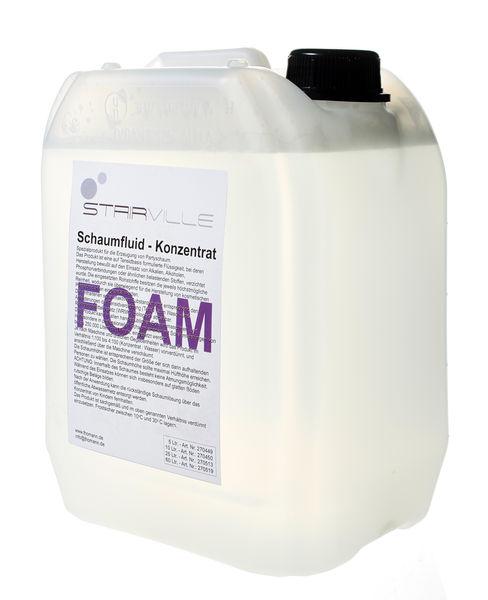Stairville Foam/Snow Fluid Concent 5 ltr.