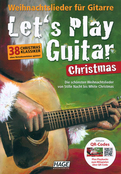 Hage Musikverlag Let's Play Guitar Christmas
