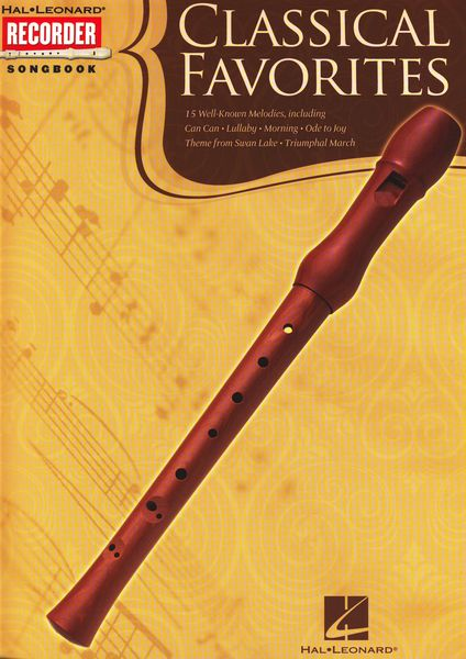 Hal Leonard Classical Favorites Recorder