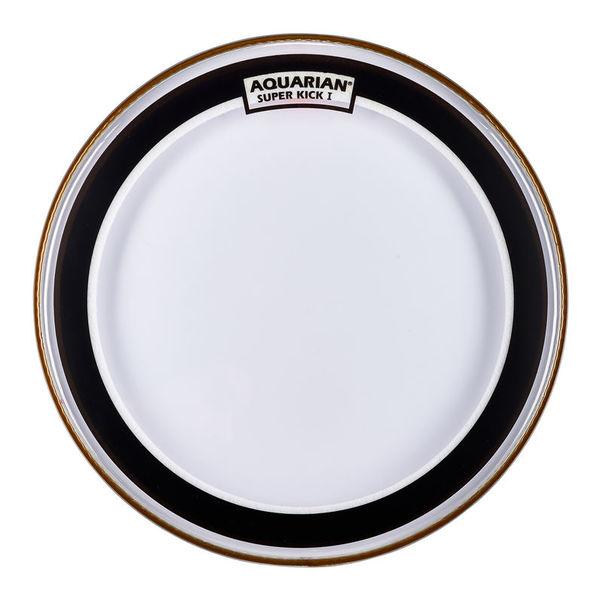 "Aquarian 18"" Super Kick Clear Bass Drum"