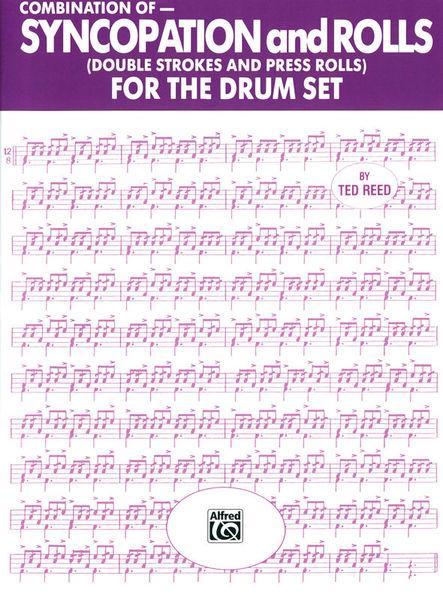 Alfred Music Publishing Syncopation Rolls Drum Set