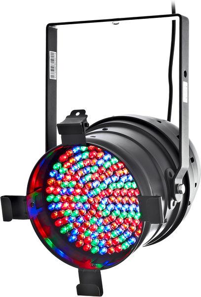 Stairville LED Par64 MKII RGBA 10mm black