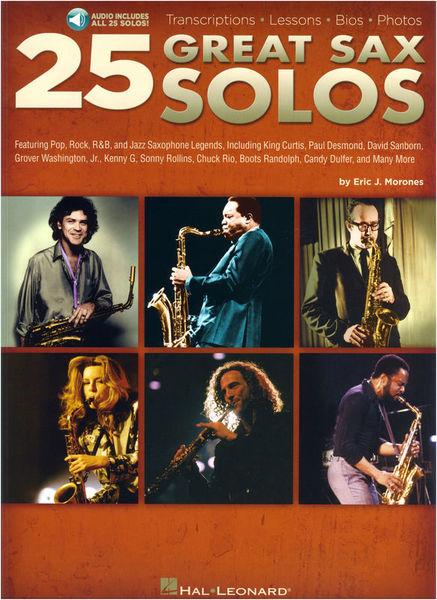 Hal Leonard 25 Great Sax Solos
