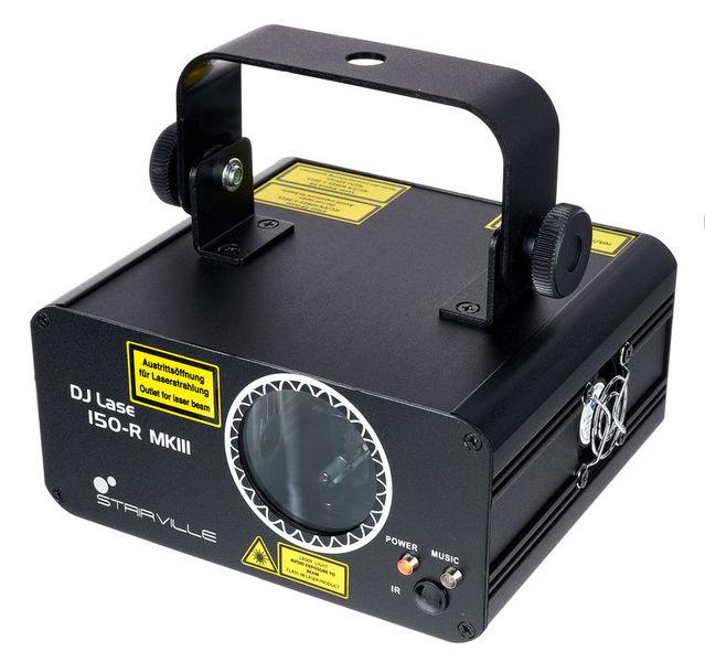 Stairville DJ Lase 150-R MK-III DMX IR