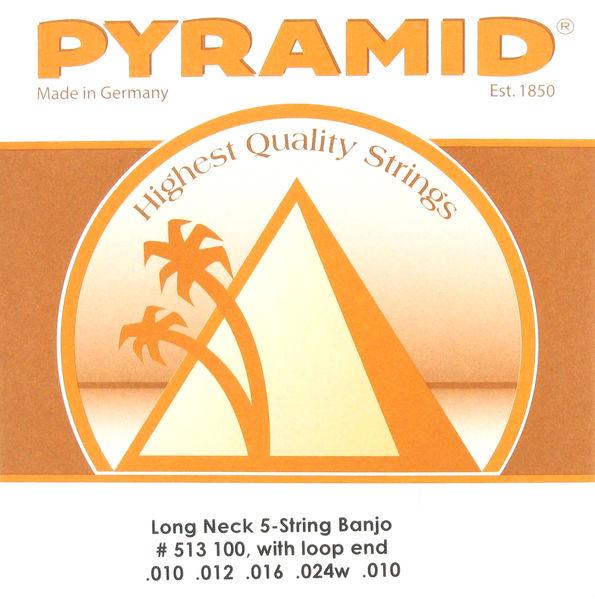 Pyramid Long Neck 5-string Banjo Set