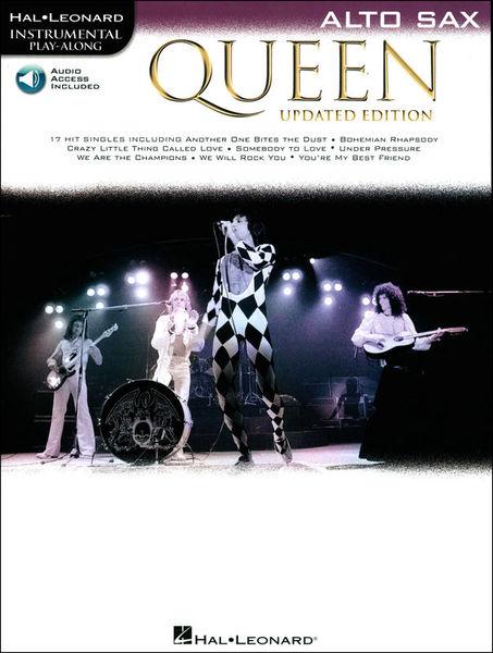 Hal Leonard Queen Alto Sax Play-Along