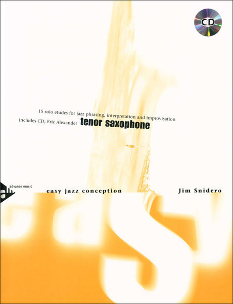Advance Music Easy Jazz Conception 1 T-Sax