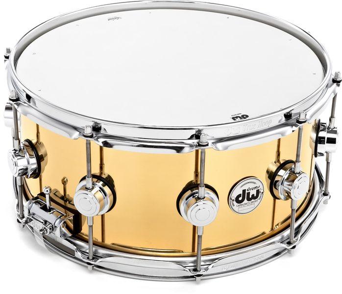 "DW 14""x6,5"" Brass Snare"