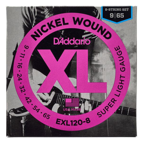 Daddario EXL120-8