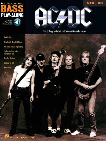 Hal Leonard Bass Play-Along AC/DC