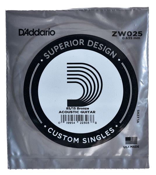Daddario ZW025 Single String