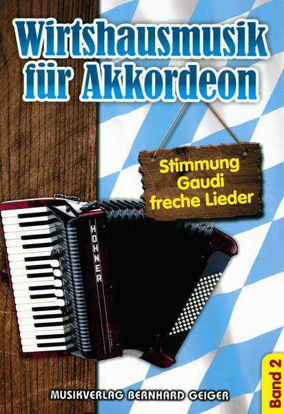 Musikverlag Geiger Wirtshausmusik Akkordeon 2