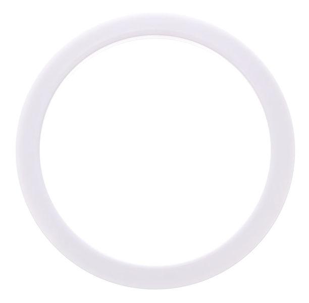 "Bass Drum O's 5"" White round HW5"