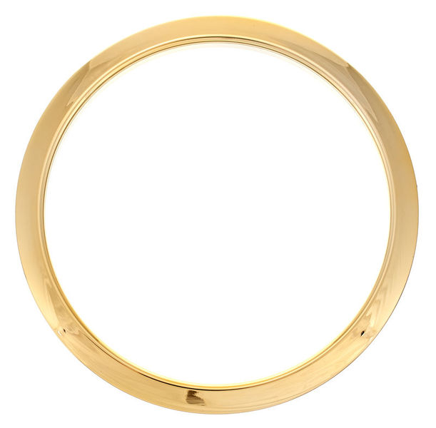 "Bass Drum O's 6"" Brass round HW6"