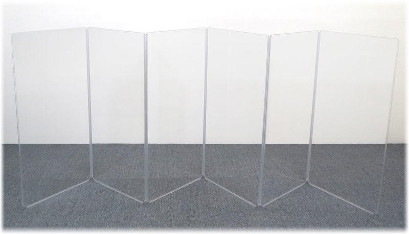 Clearsonic A2448x6 (A4-6) Drum Shield