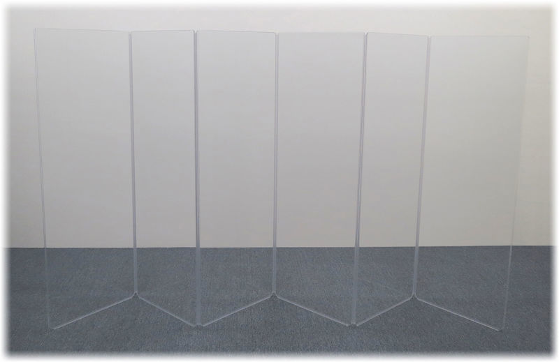 Clearsonic A2466x6 (A5-6) Drum Shield
