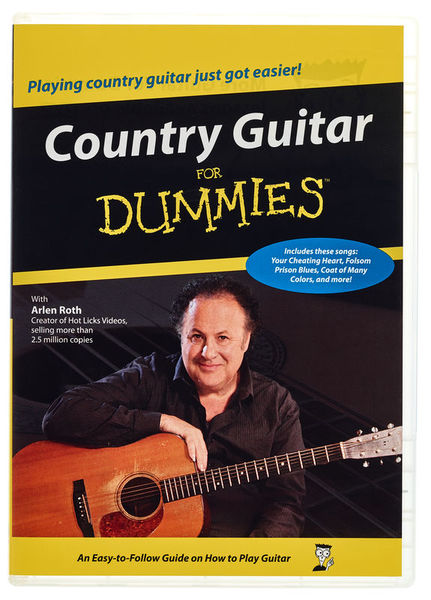 Alfred Music Publishing Country Guitar for Dummies