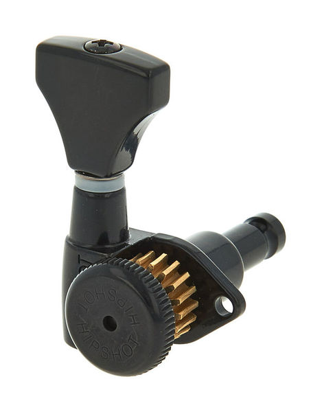 Hipshot Grip-Lock Guitar Tuner BK L