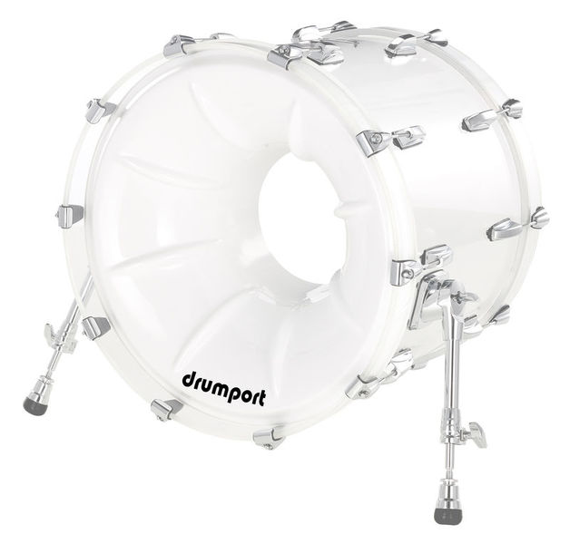 "Drumport 20"" Megaport Booster White"
