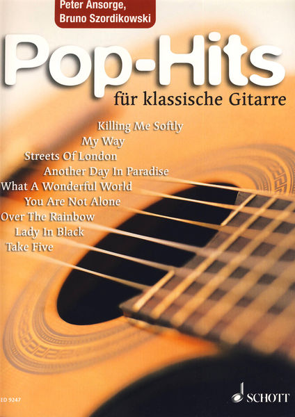Schott Pop Hits Guitar