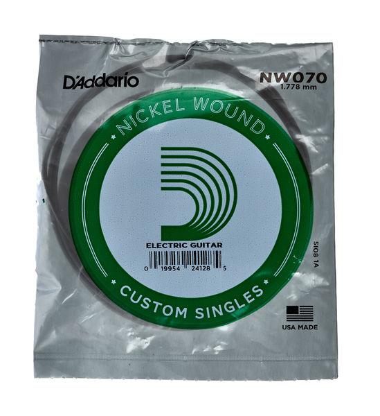 Daddario NW070 Single String
