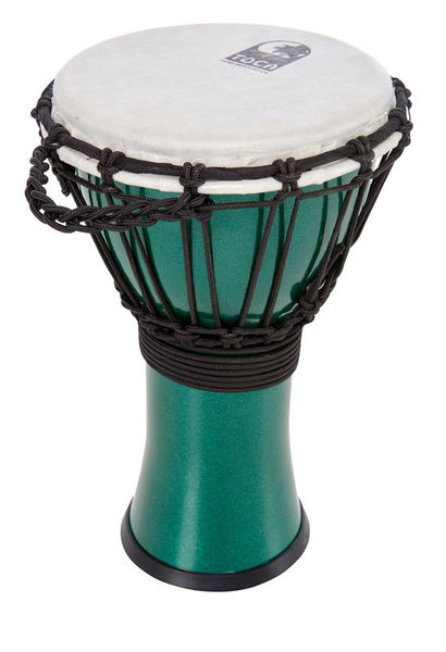"""Toca 7"""" Color Sound Djembe Green"""
