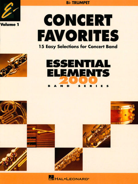 Hal Leonard Concert Favorites 1 Trumpet