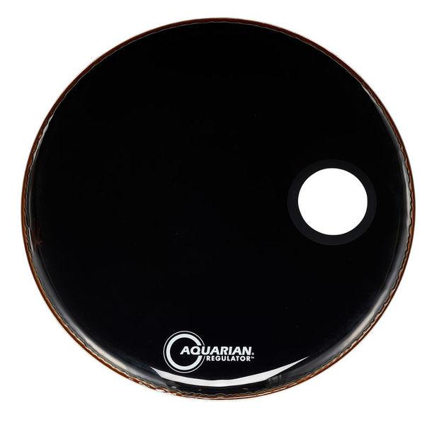 """Aquarian 24"""" Regulator Black Bass Drum"""