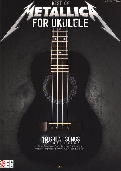 Cherry Lane Music Company Best Of Metallica For Ukulele