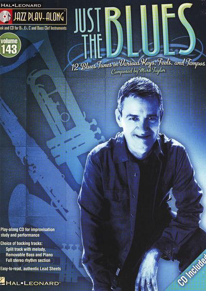 Hal Leonard Jazz Play-Along The Blues