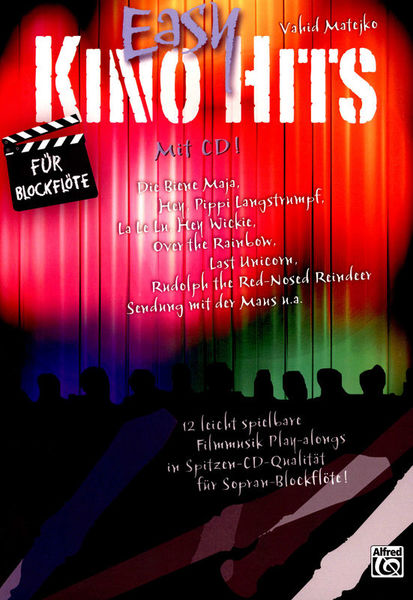 Alfred Music Publishing Easy Kino Hits Recorder