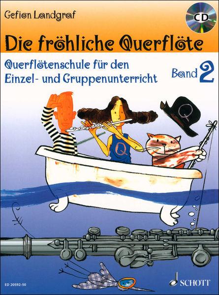 Schott Fröhliche Querflöte 2 + CD