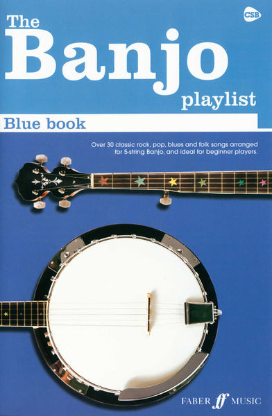 Faber Music The Banjo Playlist: Blue Book