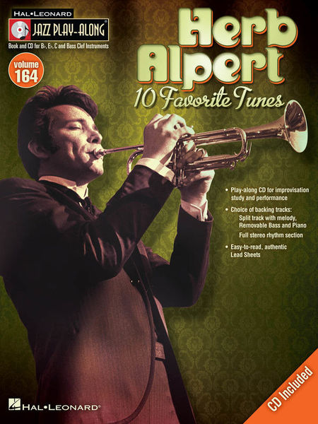 Hal Leonard Jazz Play-Along Herb Alpert