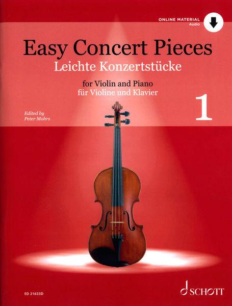 Schott Easy Concert Pieces Violin 1