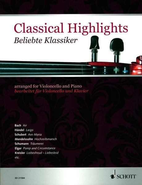 Schott Classical Highlights Cello
