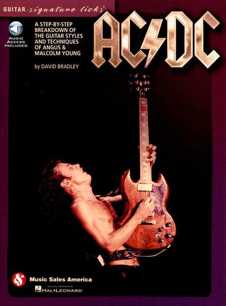 Hal Leonard AC/DC Guitar Signature Licks