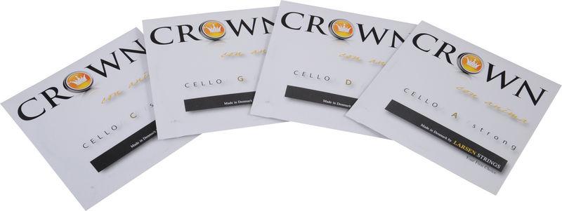 Crown By Larsen Cello Strings Set Forte 4/4