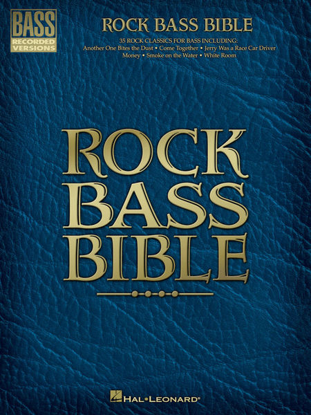 Hal Leonard Rock Bass Bible