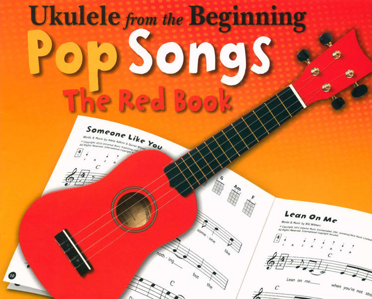 Chester Music Ukulele Beginning Pop Red