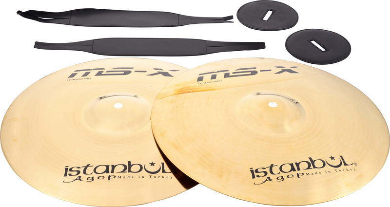 """Istanbul Agop Orchestral Band 14"""" MS-X"""
