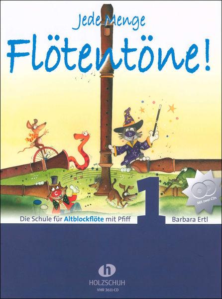 Holzschuh Verlag Jede Menge Flötentöne 1 Alt+CD